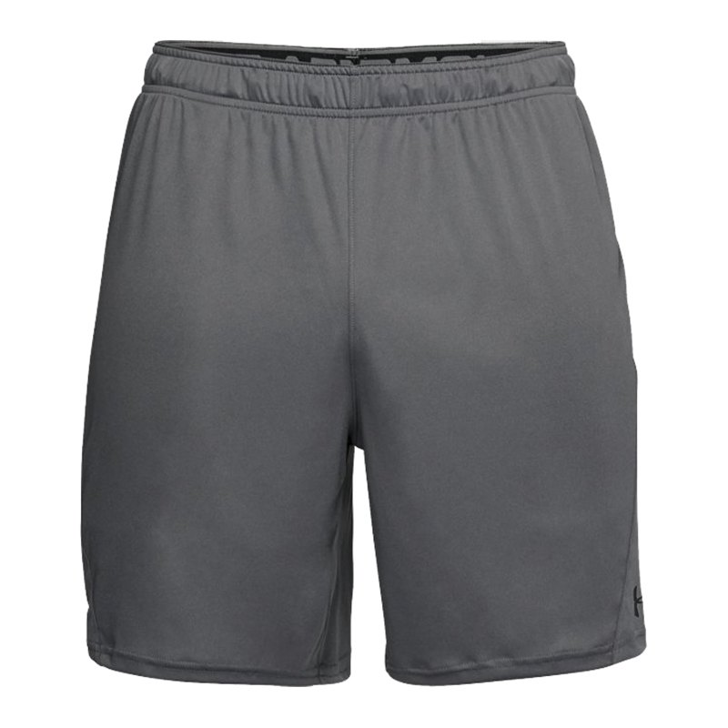 under armour challenger ii knit short grau f040 pant hose shorts sportbekleidung. Black Bedroom Furniture Sets. Home Design Ideas