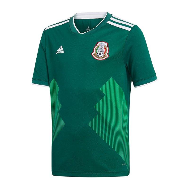 adidas mexiko trikot home wm 2018 gr n weltmeisterschaft fu ball shortsleeve fanshop. Black Bedroom Furniture Sets. Home Design Ideas