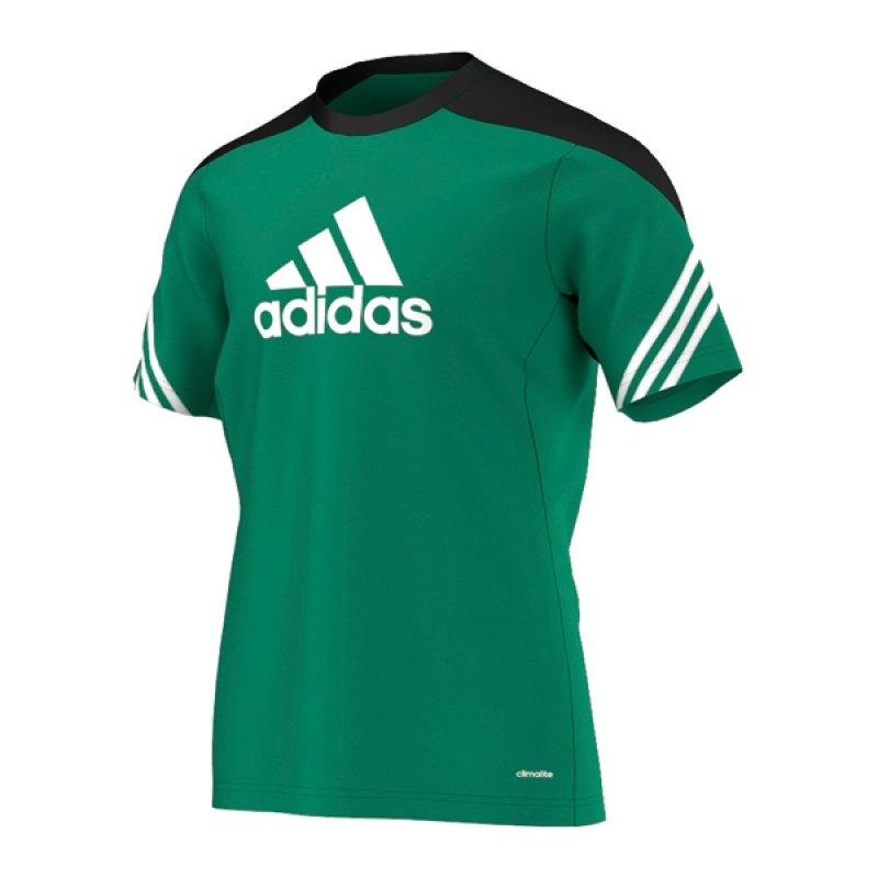 adidas Sereno 14 Training Jersey T-Shirt Grün - gruen