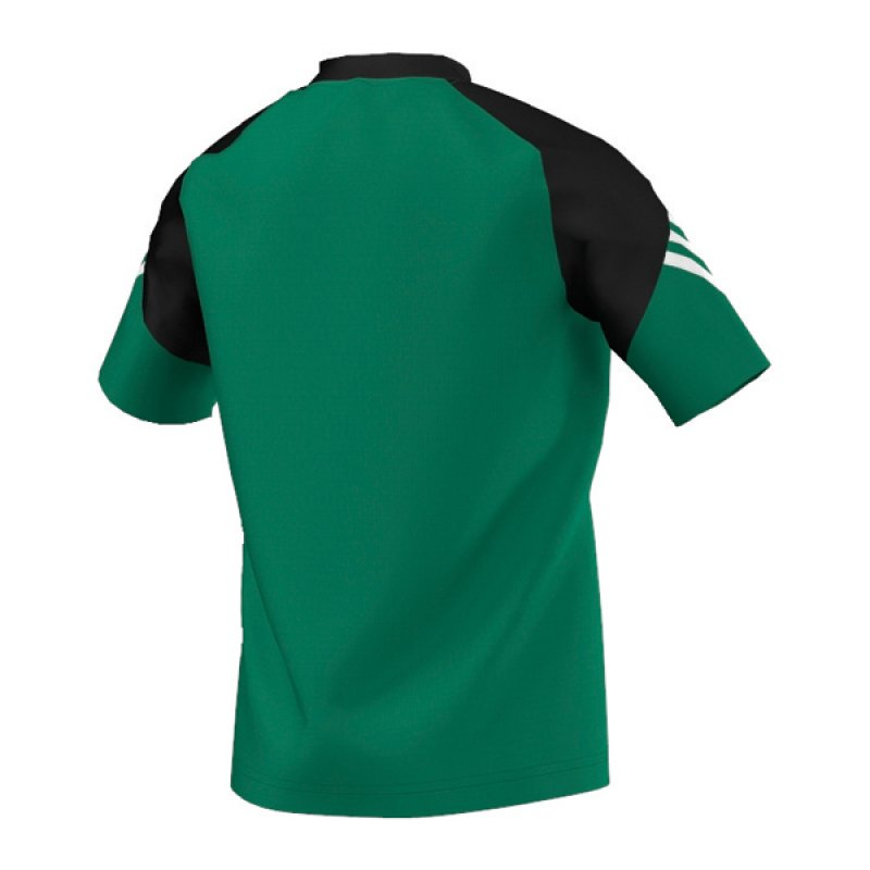 adidas sereno 14 training jersey t shirt kids gr n gruen. Black Bedroom Furniture Sets. Home Design Ideas