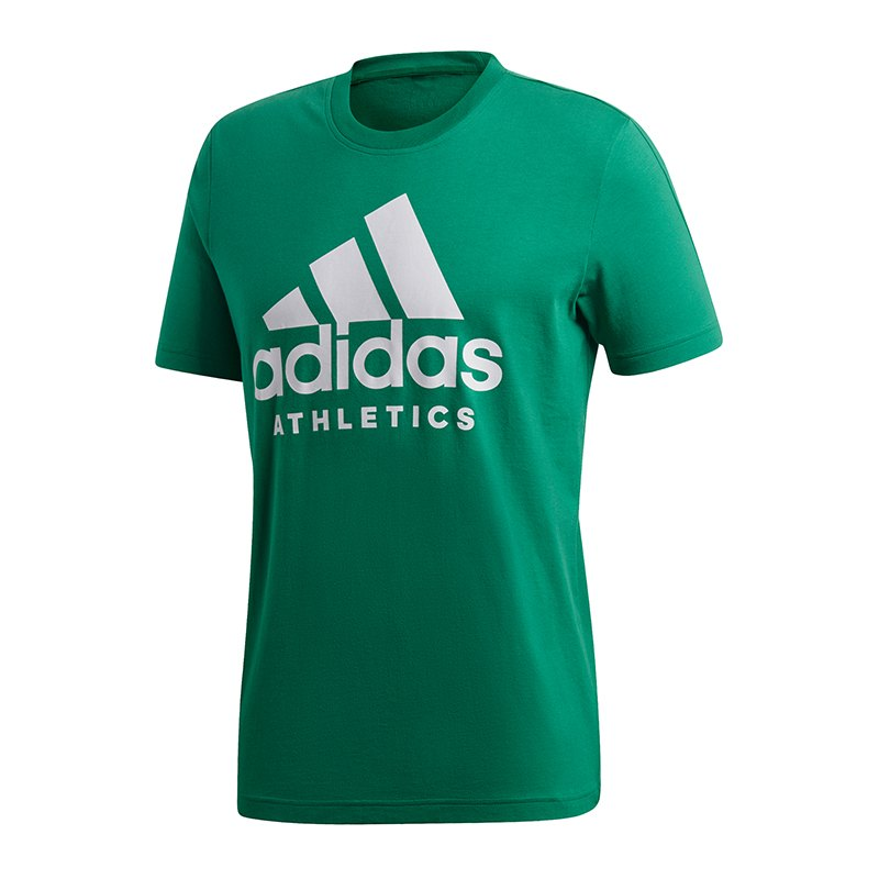 adidas Sport ID T-Shirt Grün Weiss - gruen