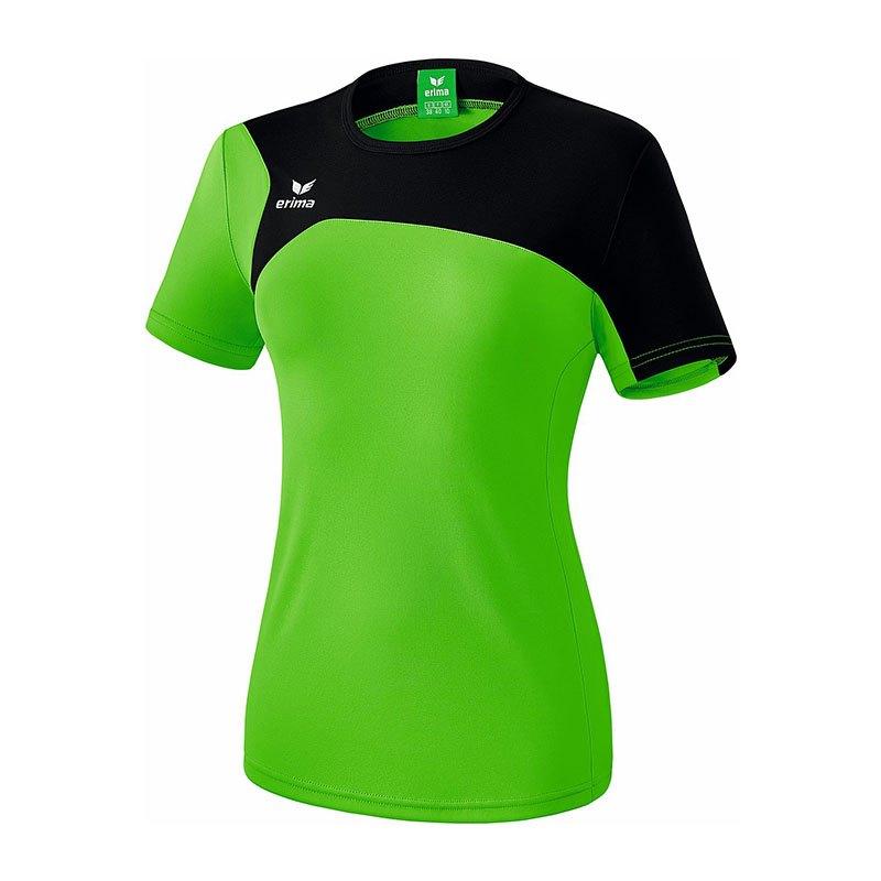 Erima Club 1900 2.0 T-Shirt Damen Grün Schwarz - gruen