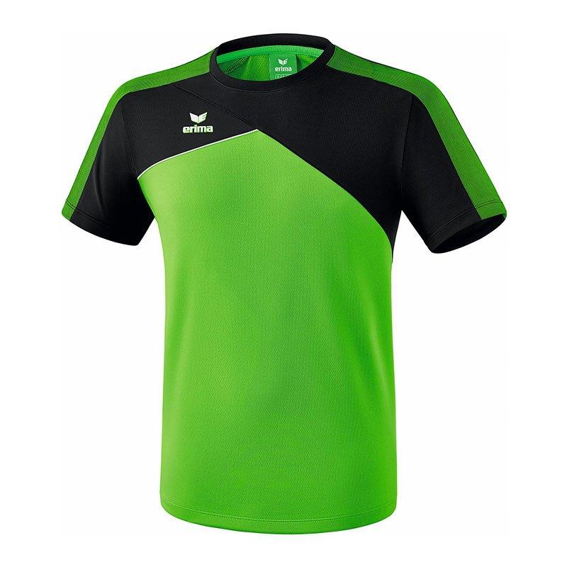 Erima Premium One 2.0 T-Shirt Grün Schwarz - gruen