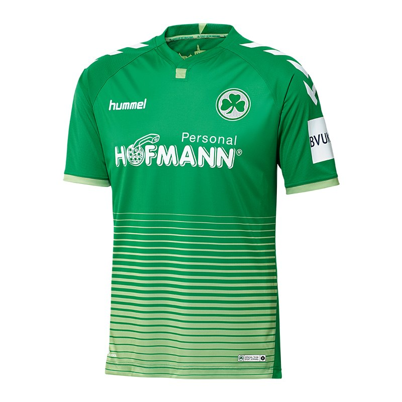 Hummel Greuther Fürth Trikot Away 2018/2019 F6235 - gruen