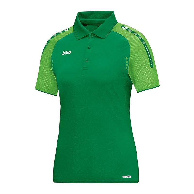 Jako Champ Poloshirt Damen Grün F22 - gruen