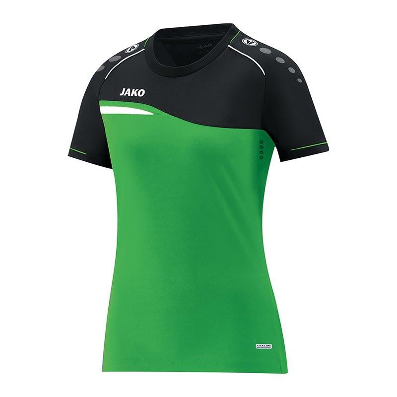 Jako Competition 2.0 T-Shirt Damen Grün F22 - gruen