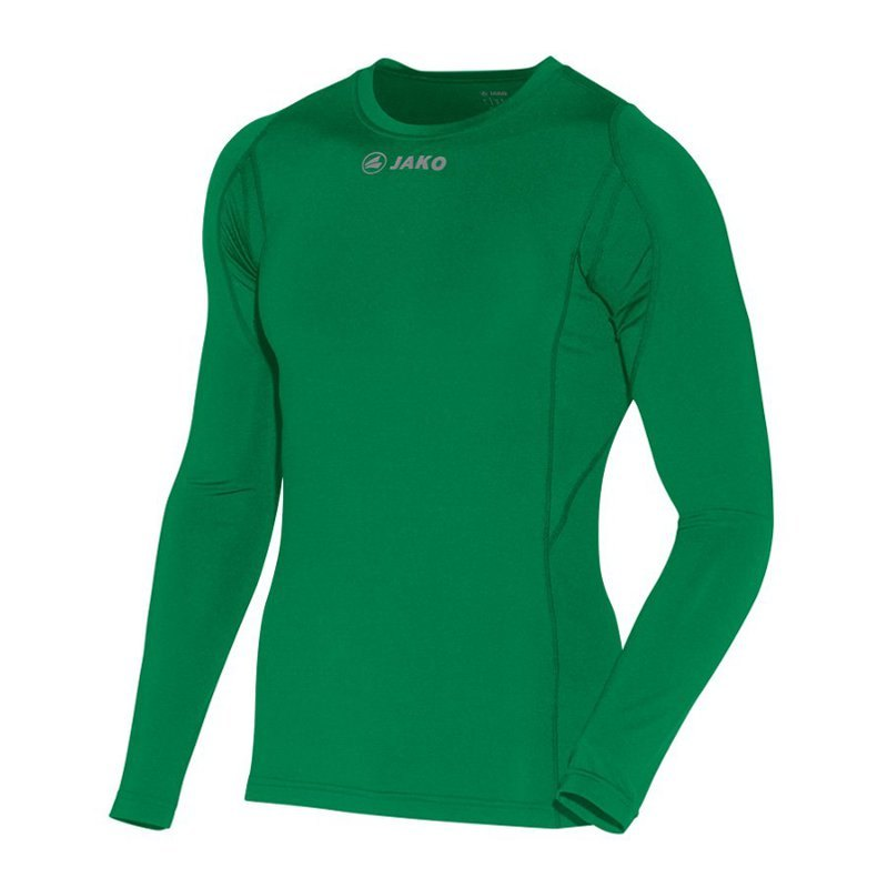 Jako Compression Longsleeve Shirt Grün F06 - gruen