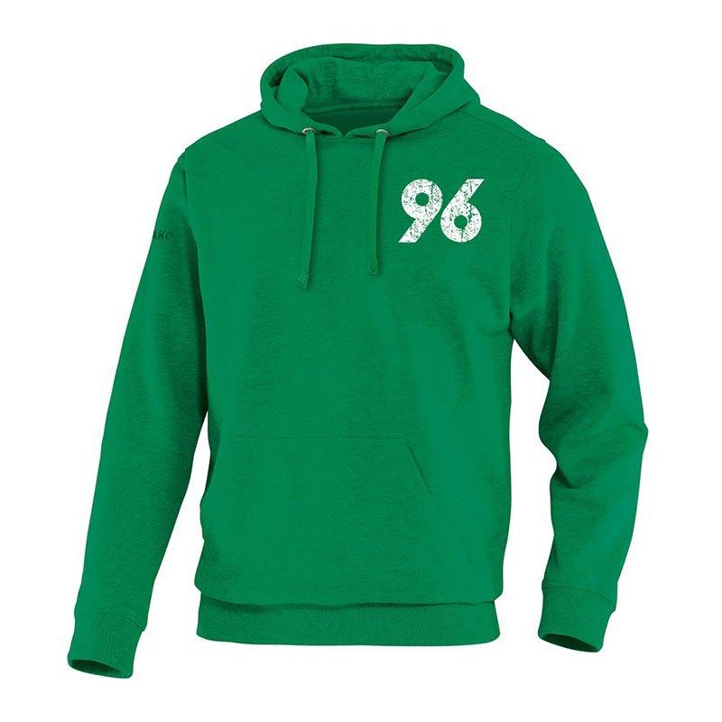 Jako Hannover 96 Vintage Hoody Kids Grün F06 - gruen