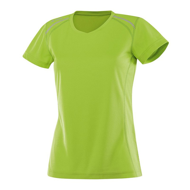 Jako T-Shirt Active Run Damen Grün F22 - gruen