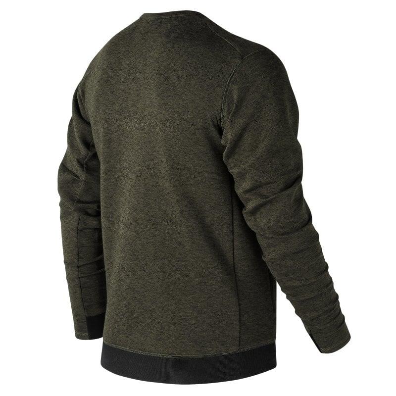 sweatshirt mt3519 luxe crew gr n f6 new balance men. Black Bedroom Furniture Sets. Home Design Ideas