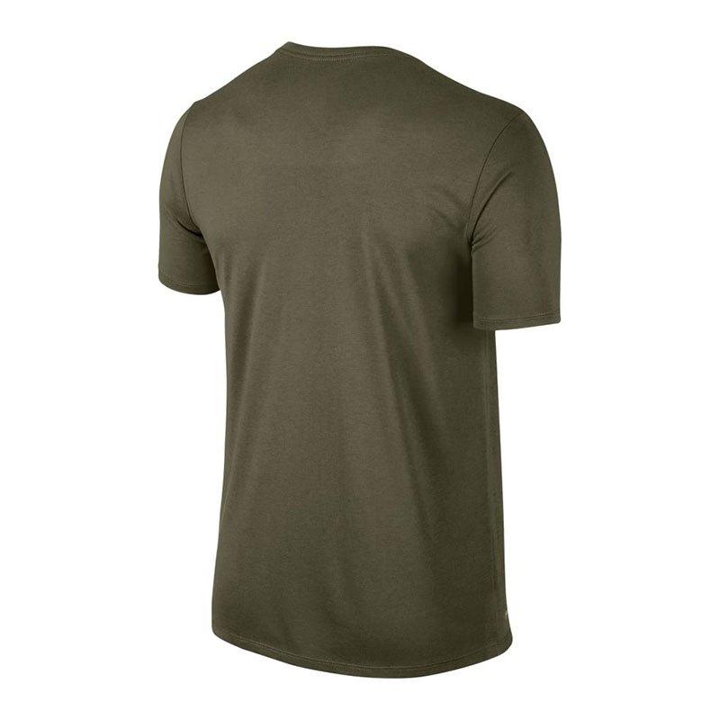 nike dri fit swoosh t shirt running gr n f395 laufausstattung jogging 10104202