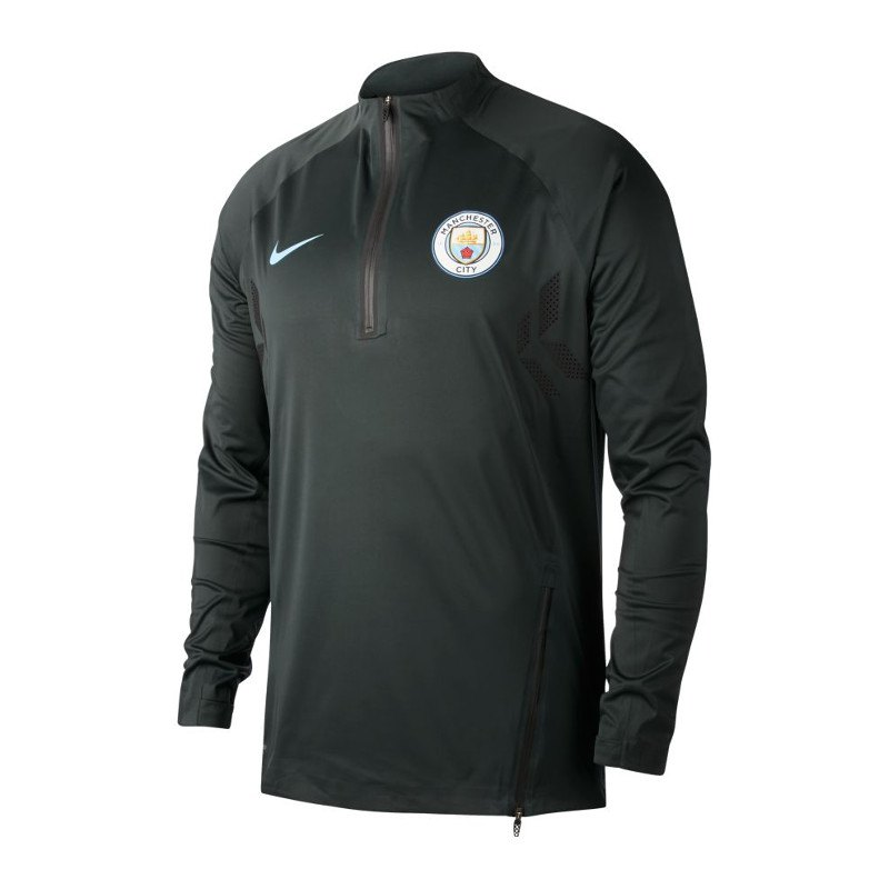 Nike Manchester City Strike Football Top Grün F336 - gruen