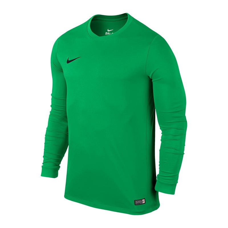 Nike Park VI Trikot langarm Hellgrün F303 - gruen