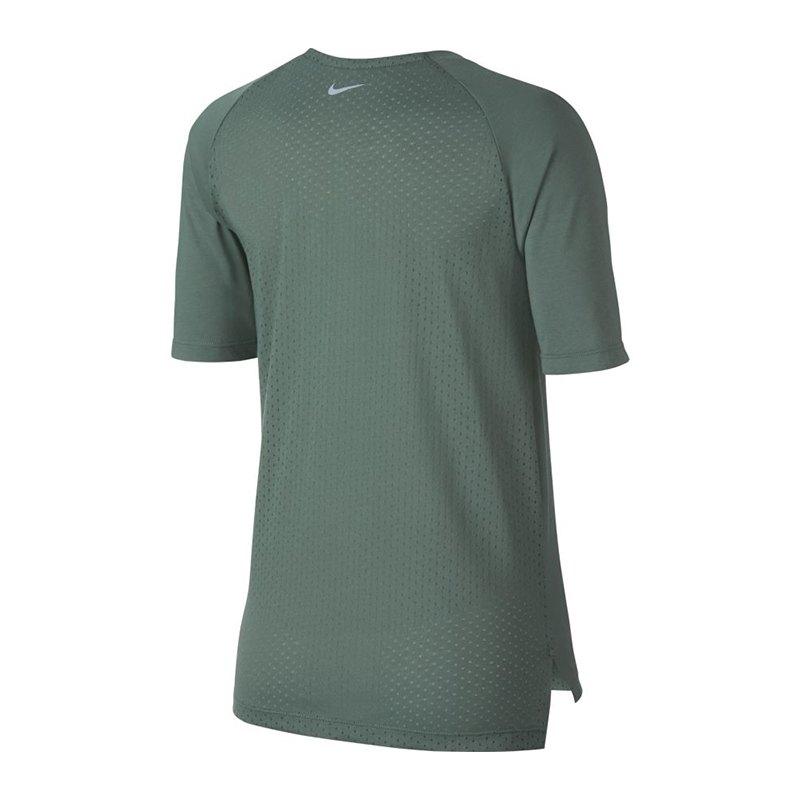 nike tailwind top t shirt running damen gr n f365 shirt. Black Bedroom Furniture Sets. Home Design Ideas