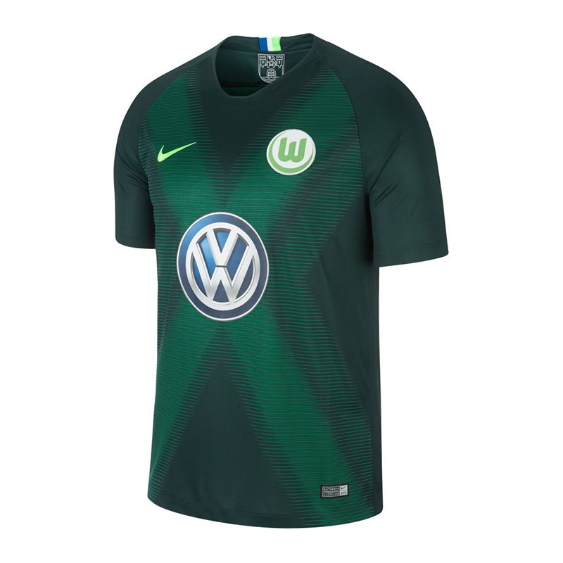 Nike VfL Wolfsburg Trikot Home 2018/2019 F398 - gruen