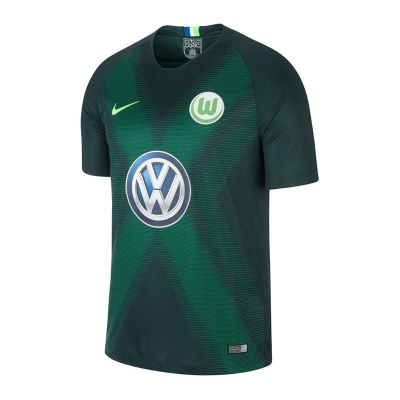 Nike VfL Wolfsburg Trikot Home Kids 2018/2019 F398 - gruen