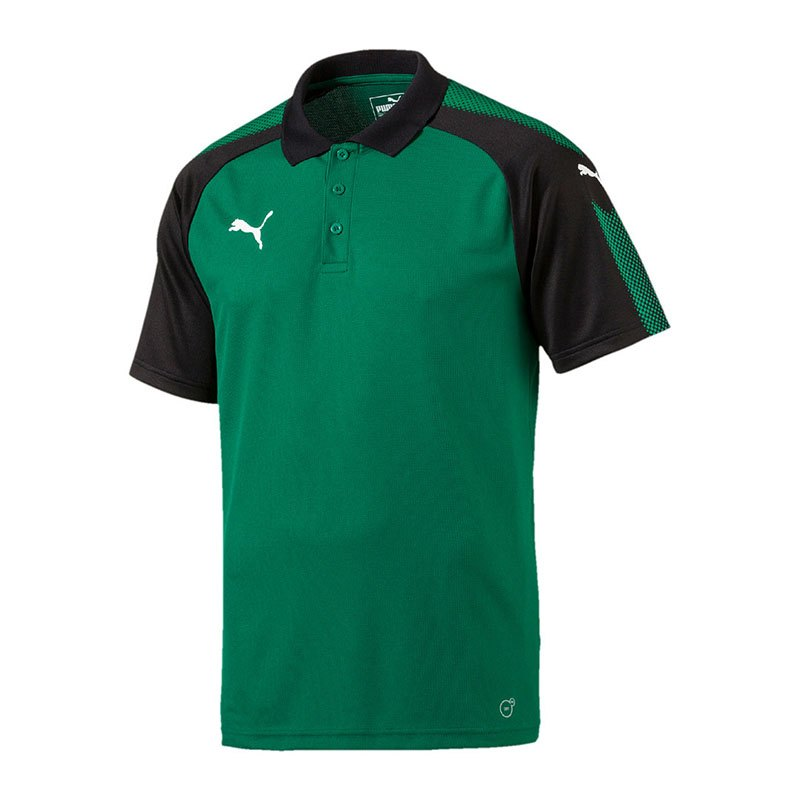 PUMA Ascension Training Polo Grün Schwarz F05 - gruen