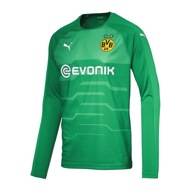 PUMA BVB Dortmund Torwarttrikot 2018/2019 Grün F04 - gruen