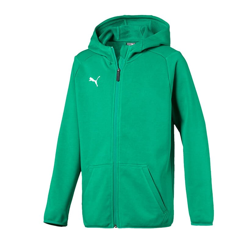 PUMA LIGA Casual Jacket Jacke Kids Grün F05 - gruen