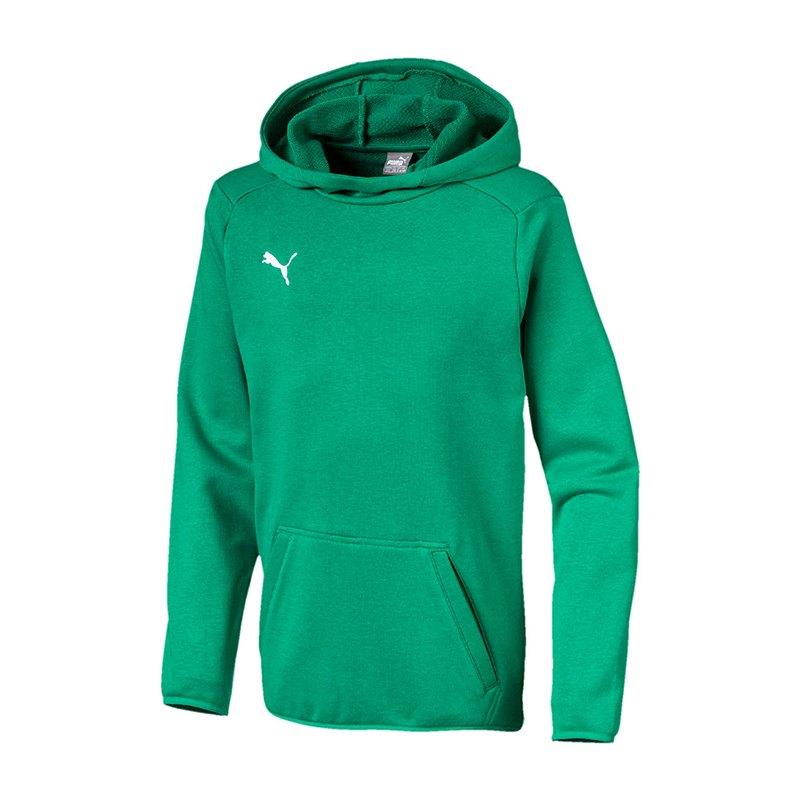 PUMA LIGA Casuals Kapuzensweatshirt Kids F05 - gruen