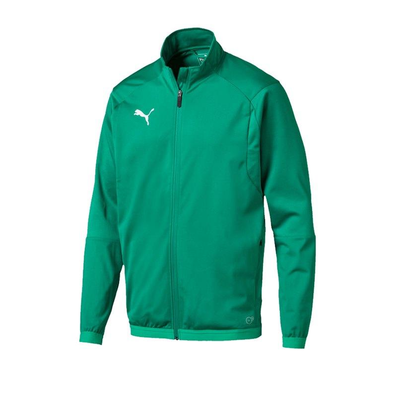 PUMA LIGA Training Jacket Trainingsjacke Grün F05 - gruen