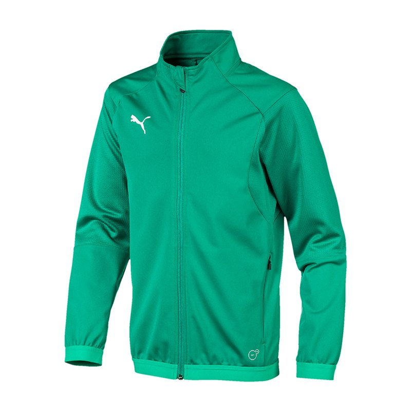 PUMA LIGA Training Jacket Trainingsjacke Kids F05 - gruen