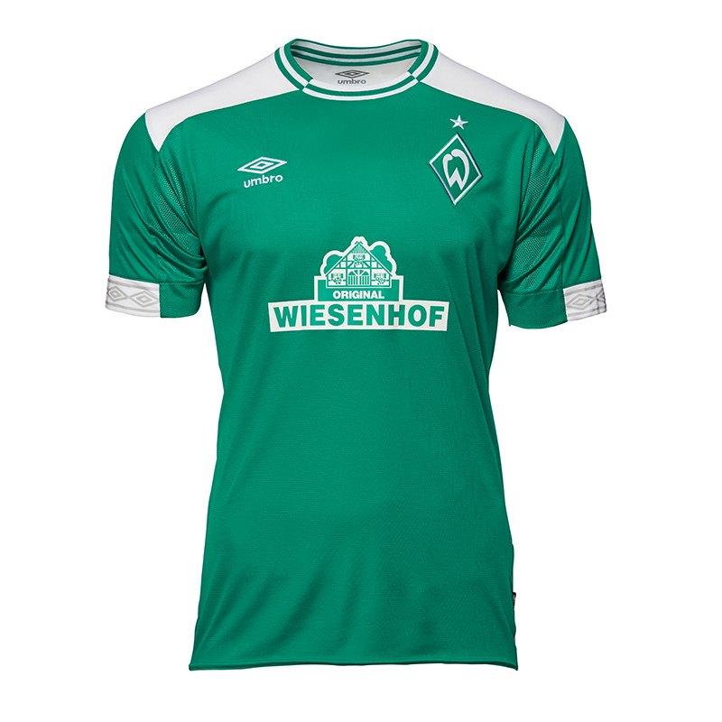 Umbro SV Werder Bremen Trikot Home Kids 2018/2019 - gruen