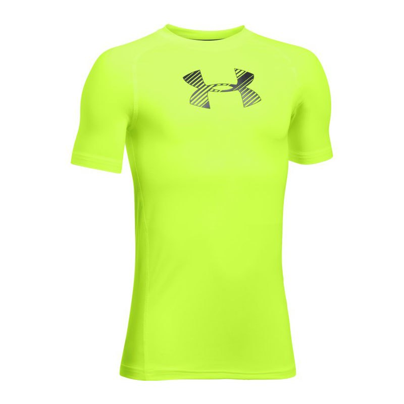 Under Armour Shortsleeve Shirt Kids Grün F363 - gruen