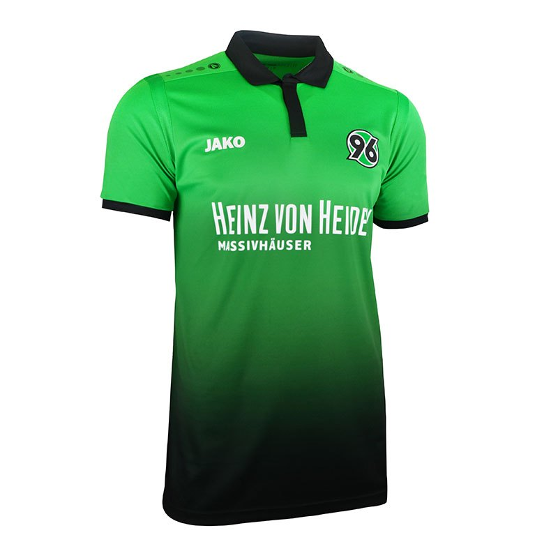 jako hannover 96 trikot away 17 18 gr n f06 fanjersey. Black Bedroom Furniture Sets. Home Design Ideas
