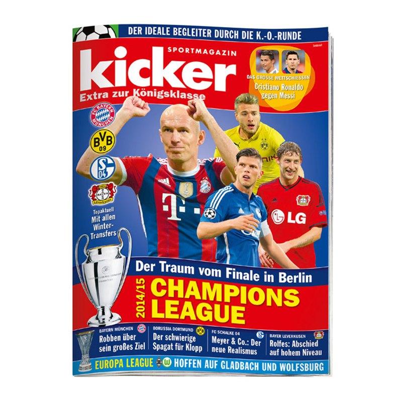 Liveticker Champions League Kicker