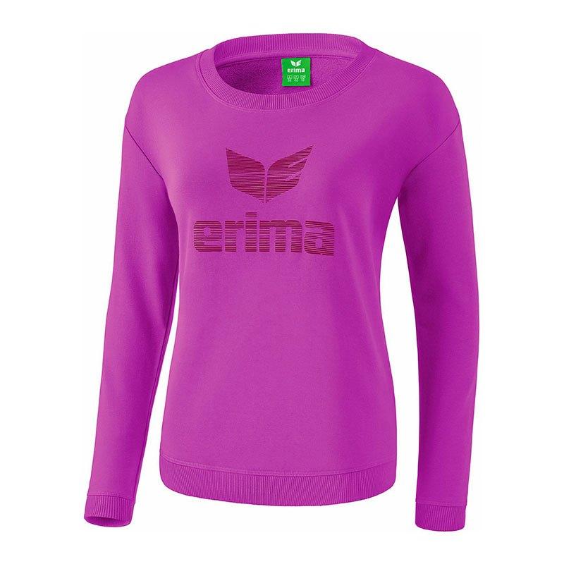 Erima Essential Sweatshirt Kids Lila - lila