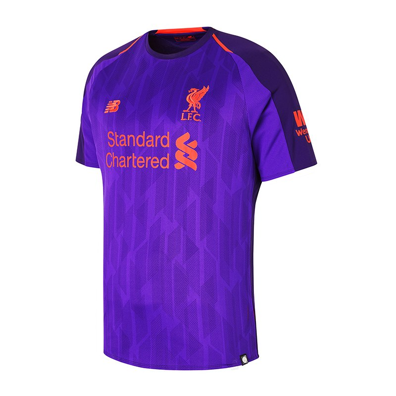 New Balance FC Liverpool Trikot Away 2018/2019 F01 - lila