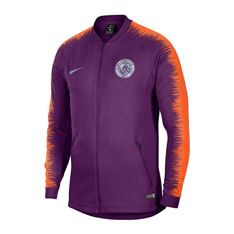 Nike Manchester City Anthem Jacket Lila F541 - lila