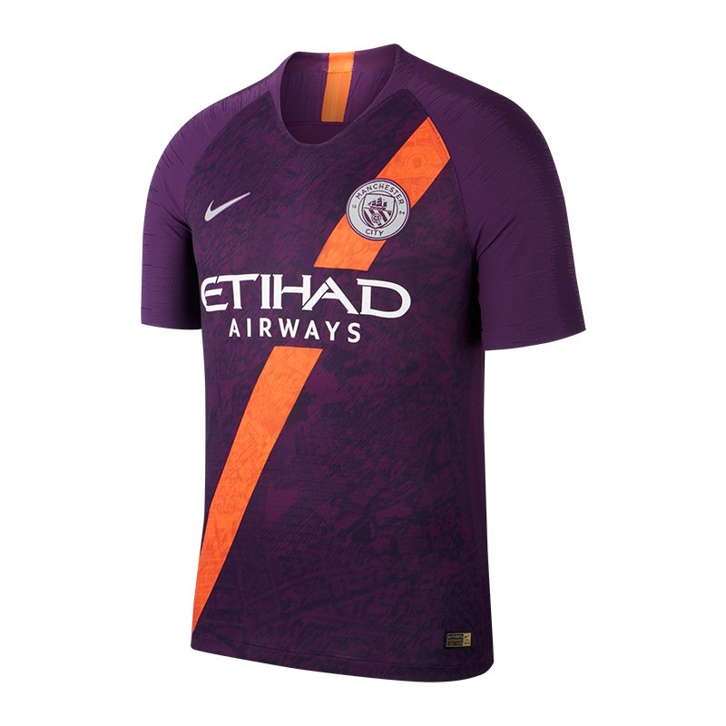 Nike Manchester City Authentic Trikot UCL 2018/2019 F538 - lila