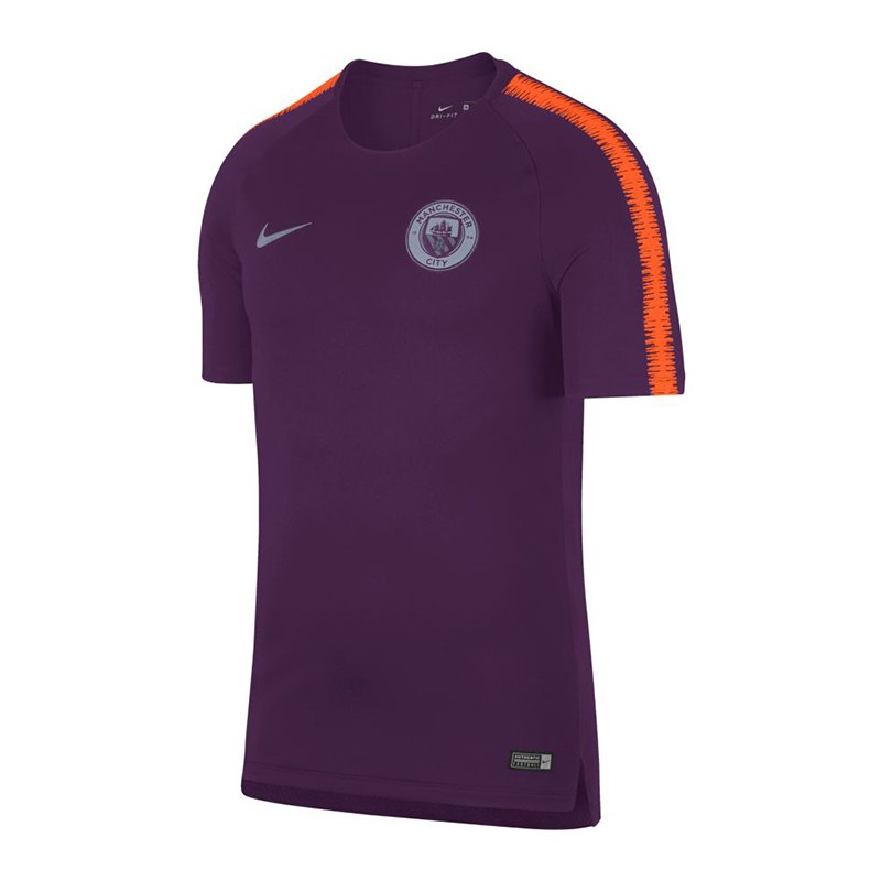 Nike Manchester City Breathe Squad T-Shirt F541 - lila