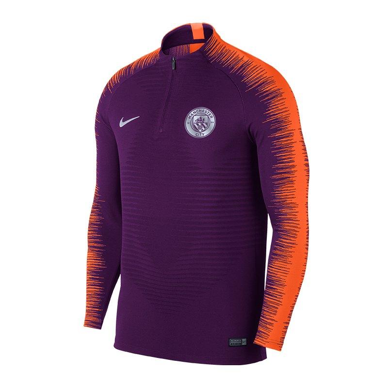 Nike Manchester City FC Strike Drill Top Lila F541 - lila