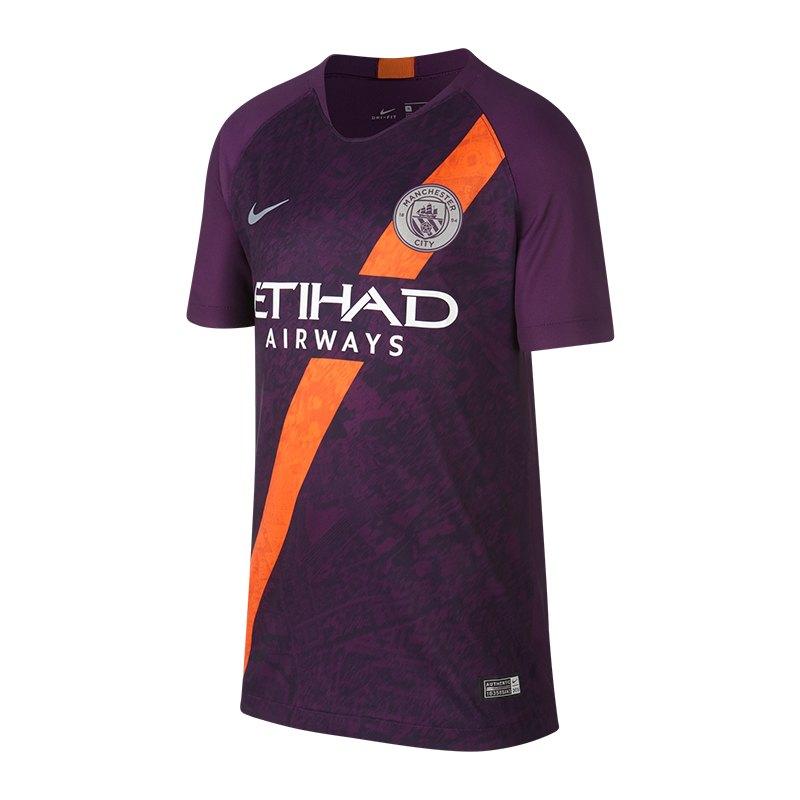Nike Manchester City Trikot UCL Kids 2018/2019 F538 - lila