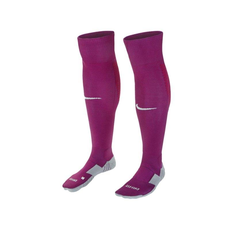 Nike Team Matchfit OTC Football Socken Lila F570 - lila