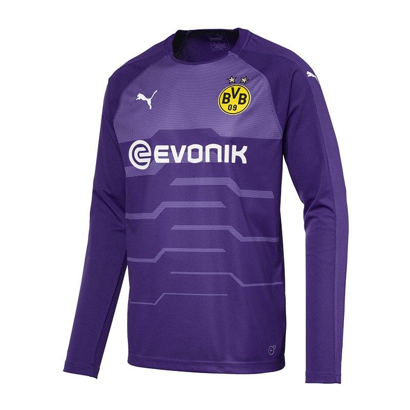 PUMA BVB Dortmund Torwarttrikot 2018/2019 Lila F05 - lila