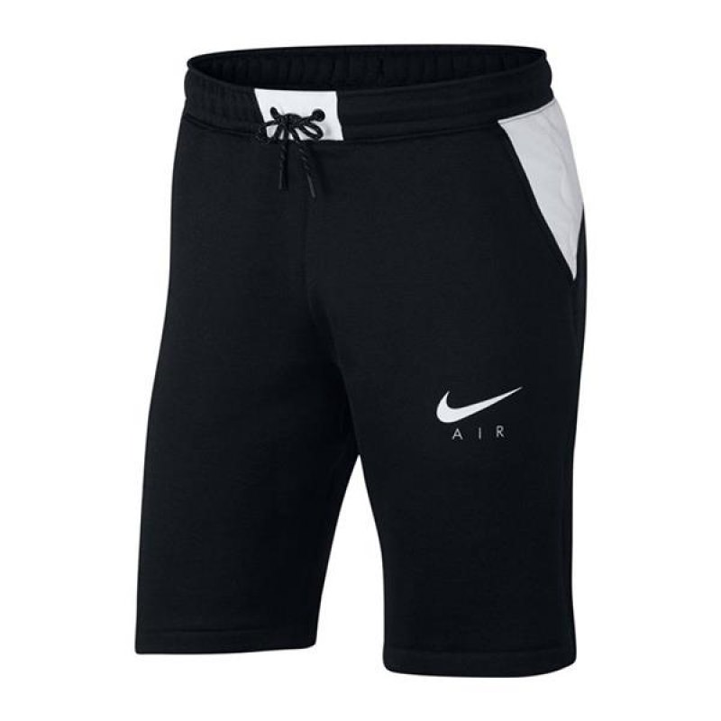 nike air hybrid short hose kurz schwarz f010 lifestyle. Black Bedroom Furniture Sets. Home Design Ideas