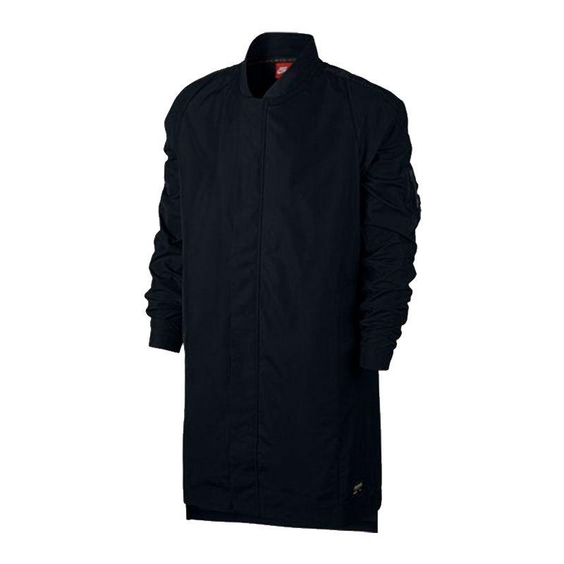nike f c jacket jacke schwarz f010 schwarz. Black Bedroom Furniture Sets. Home Design Ideas