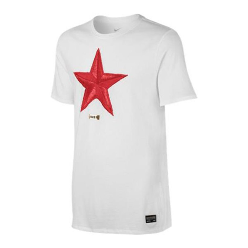 nike f c star tee t shirt weiss f100 weiss. Black Bedroom Furniture Sets. Home Design Ideas