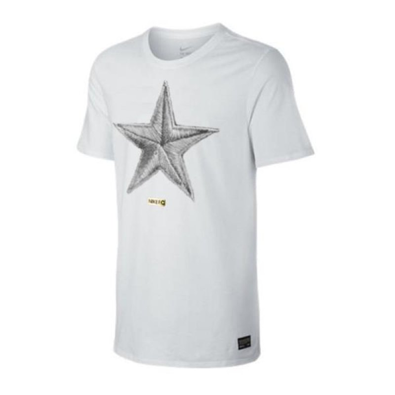 nike f c star tee t shirt weiss f101 weiss. Black Bedroom Furniture Sets. Home Design Ideas