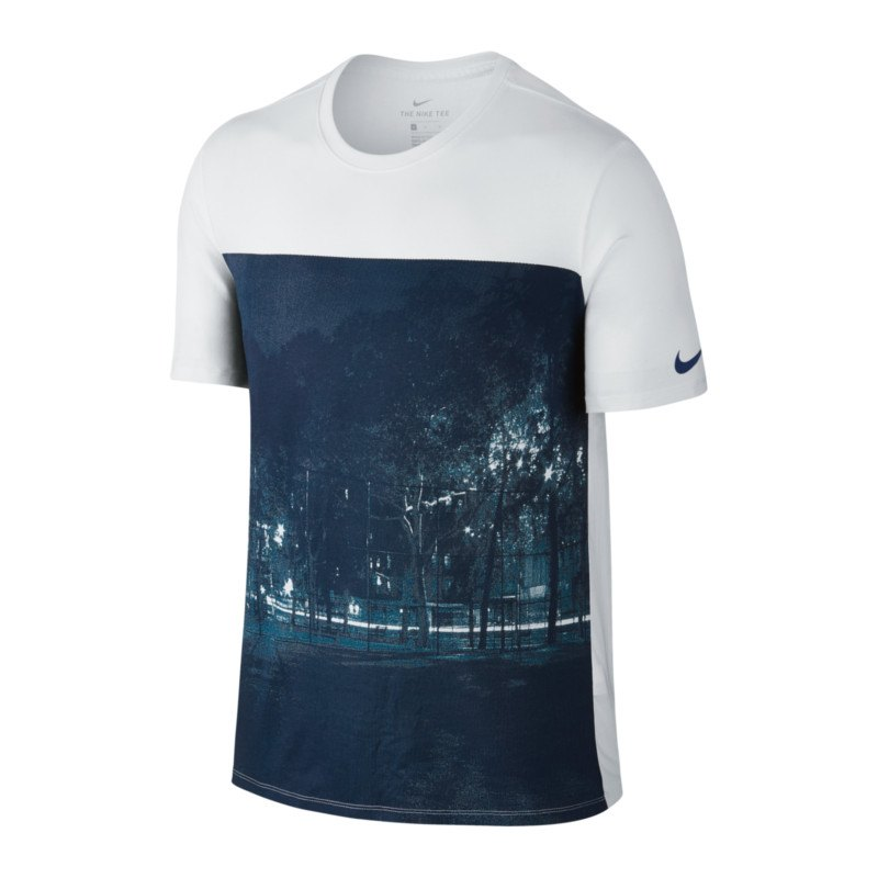 Nike Photo Tee T-Shirt Weiss F100 weiss