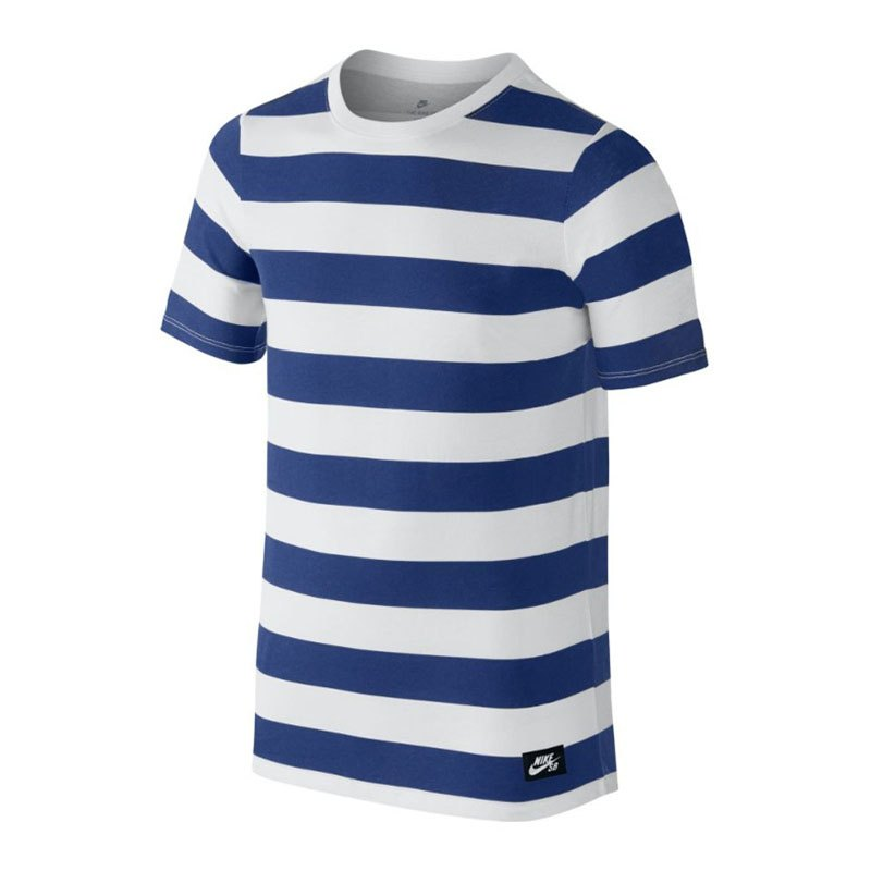 nike sb stripe tee t shirt kids weiss f100 freizeitshirt. Black Bedroom Furniture Sets. Home Design Ideas