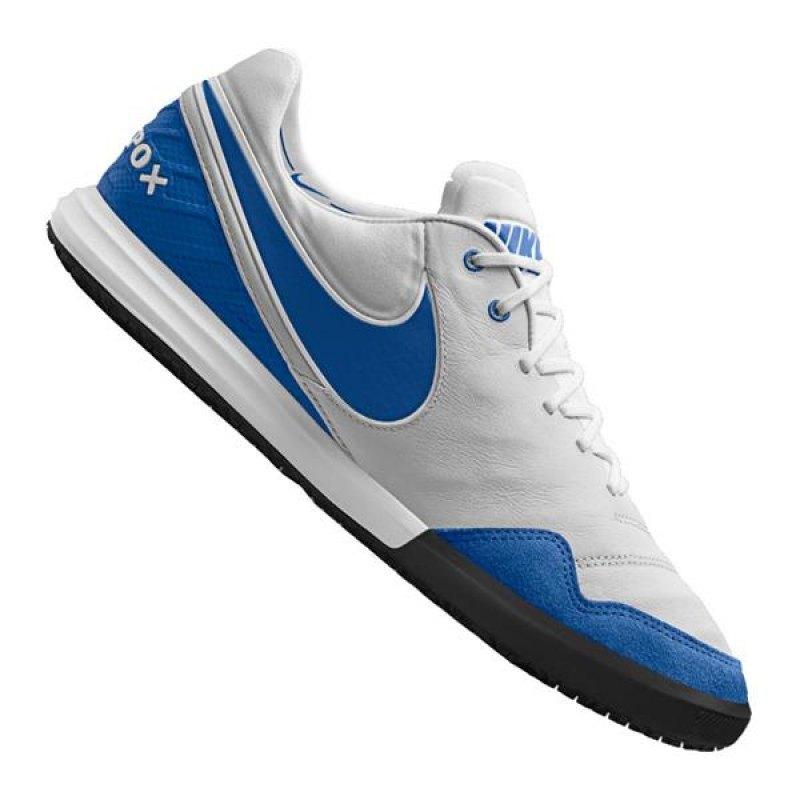 Nike Tiempo X Proximo IC Weiss Blau F141 - weiss ...