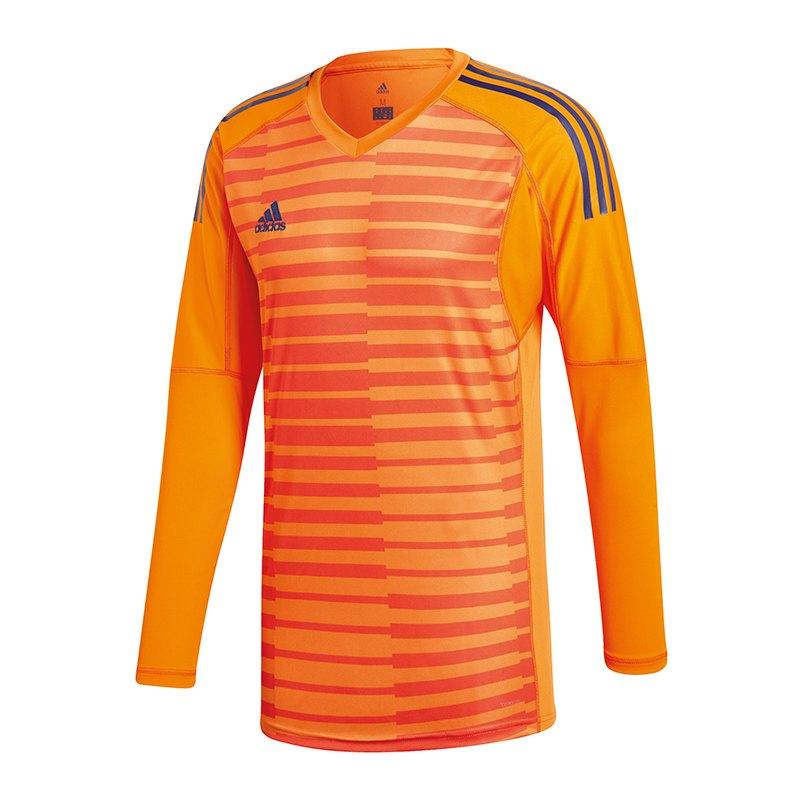 adidas AdiPro 18 Torwarttrikot langarm Orange - orange