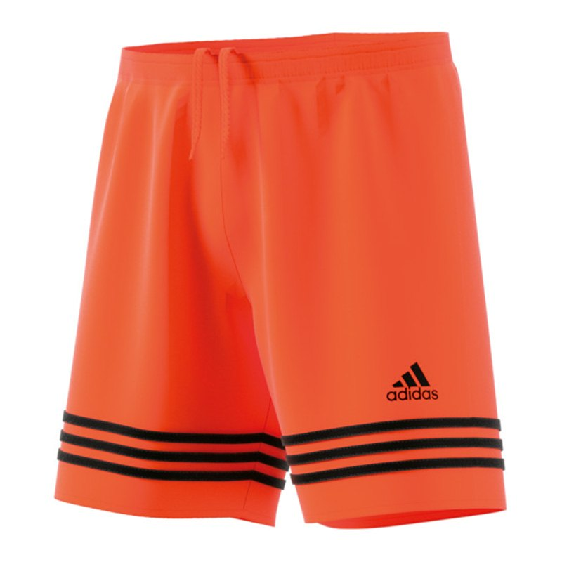 adidas Entrada 14 Short Kids Orange Schwarz - orange