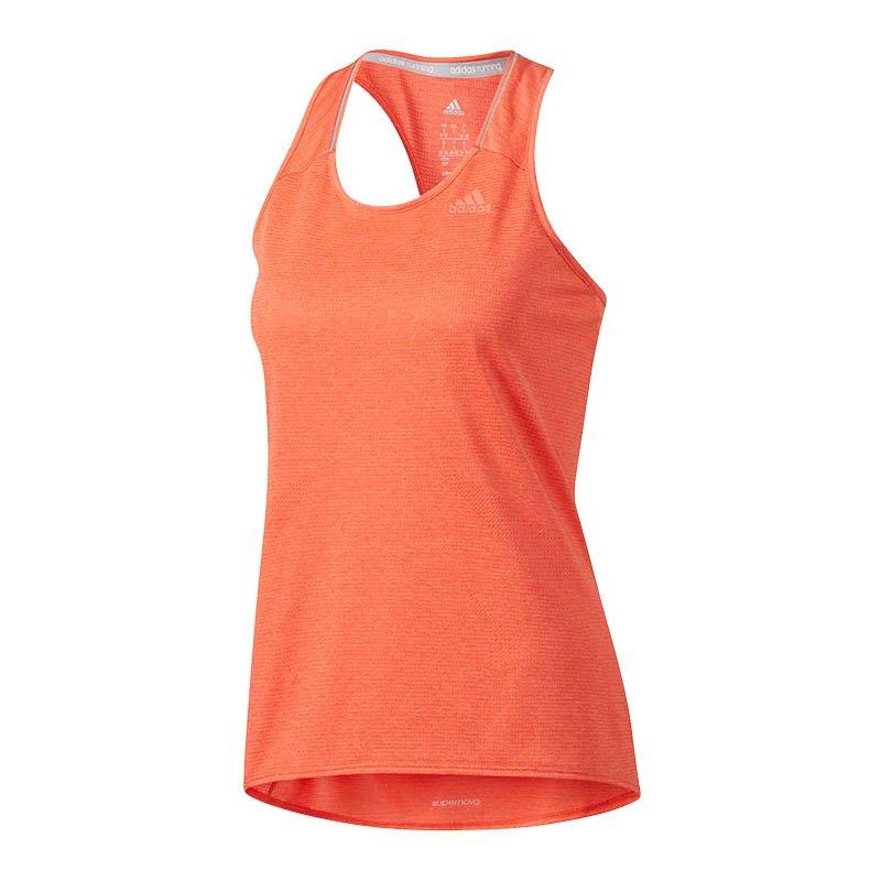 adidas Supernova Tanktop Running Damen Orange - orange