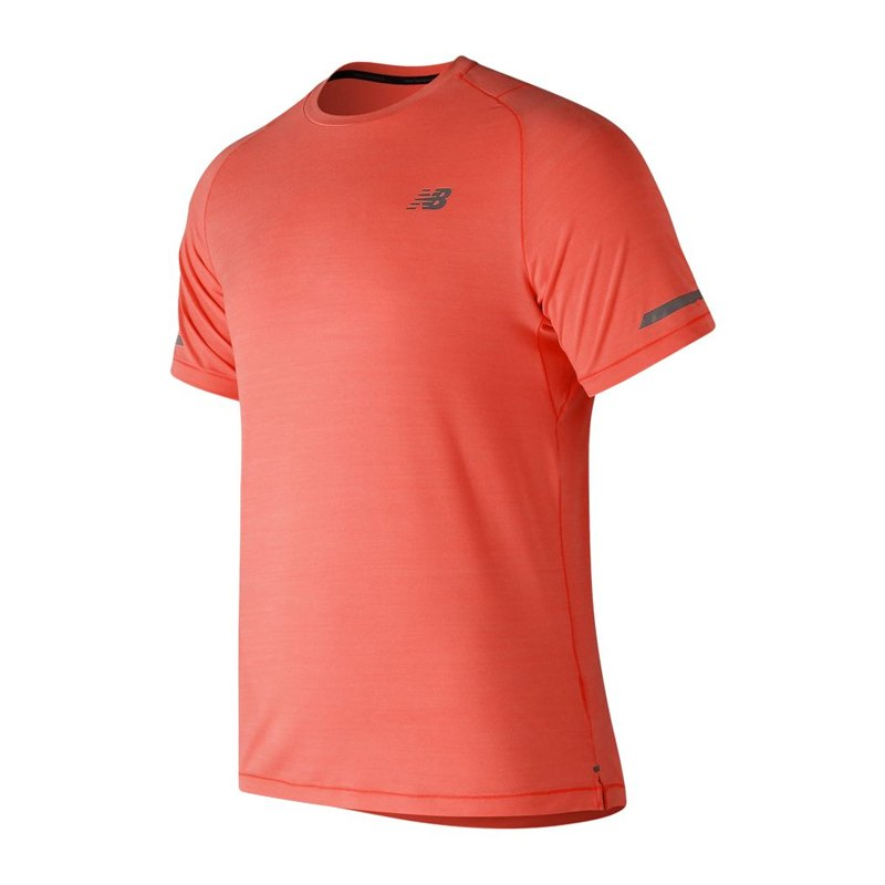 New Balance Seasonless T-Shirt Running Orange F17 - orange